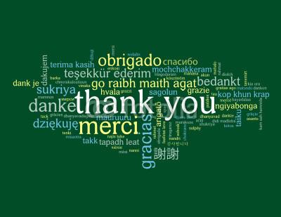 obrigado thanks gracias