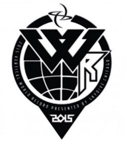 Logo 2015 vertical world record www luchiari com br
