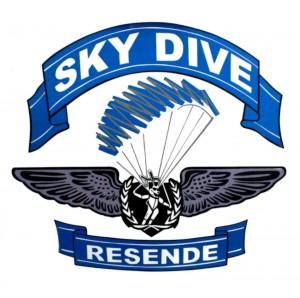 Logotipo Skydive Resende www luchiari com br