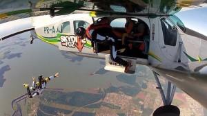 irmão luchiari skydivefoz foz do iguaçu pr brasil barragem itaipu www luchiari com br