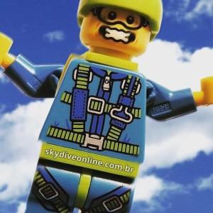 Pular Saltar Skydive Online Luchiari Paraquedismo Paraquedas
