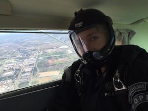 2º SGT Paraquedista Bope matéria Skydive Online Luchiari