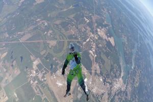 Luke Aikins Skydive Online Luchiari Paraquedismo Salto sem paraquedas