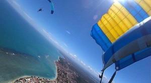 Costa Litoral Skydive Online Itaparica Paraquedismo Luchiari com br