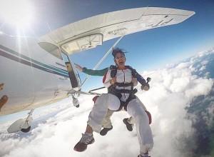 Salto Duplo Skydive Online Itaparica Paraquedismo Luchiari com br